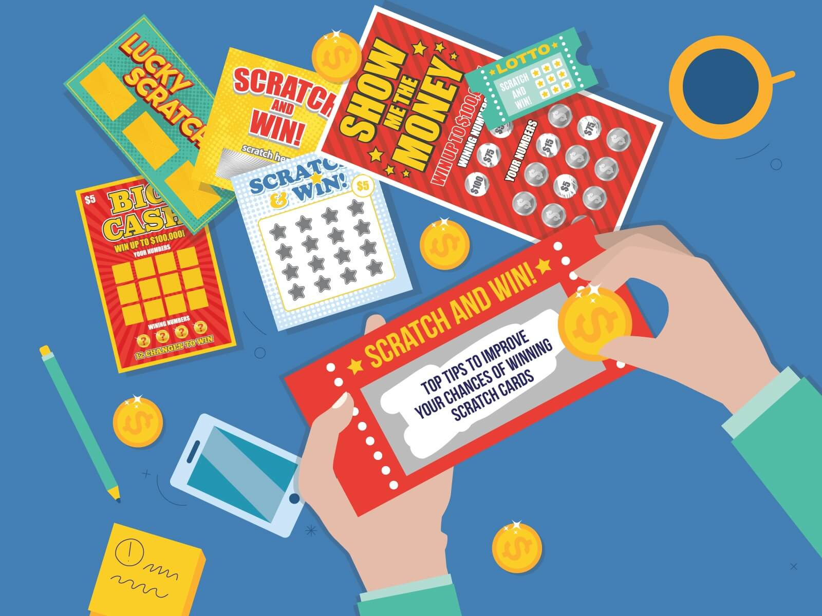 How to Play Scratch Cards and get no deposit bonus – Classic Rules